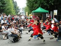早稲田大学「踊り侍」による迫力あるよさこい踊り