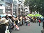 大勢の人が集まった鶴巻町フェスティバル