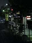 原付バイクも駐輪できる