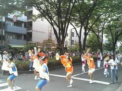東京の阿波踊りの本場・高円寺からの阿波踊り