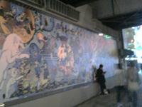 綺麗になった高田馬場駅前の手塚治虫壁画