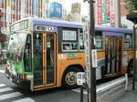 減便された都営バス