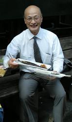 早稲田大学周辺商店連合会長も絶賛する根室のさんま