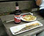 お食事のお供に地ビール早稲田