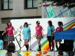 早稲田地球感謝祭2008・早大生らによるステージでのパフォーマンス