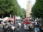 早稲田地球感謝祭2008で賑やかな早稲田大学キャンパス