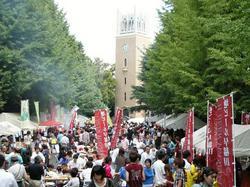 4万人を超える来場者で賑わった早稲田地球感謝祭2009