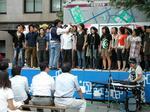 昨年の早稲田地球感謝祭の音楽企画(メガピース、ワセダカルチェラタン)