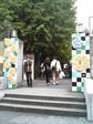 早稲田祭・早大東門の装飾