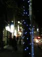 早稲田駅前商店会のイルミネーション