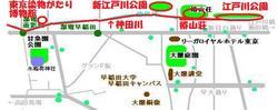 神田川:面影橋〜早稲田〜江戸川橋を散策