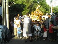 水稲荷神社の子供神輿